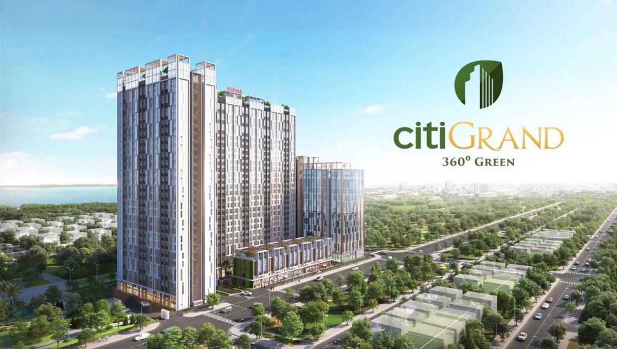 Toàn cảnh Dự án CitiGrand Kiến Á Quận 2